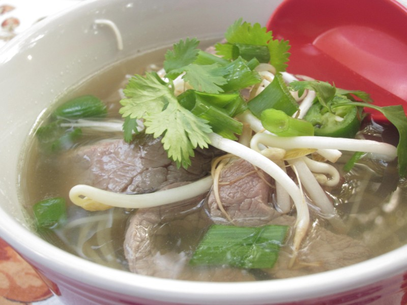 Pho Bo (Vietnamese Beef Noodle Soup) | Once A Month Meals