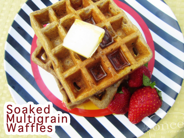 Better Than the Freezer Aisle: Copy Cat Kashi Soaked Multigrain Waffles