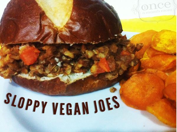Sloppy Vegan Joe's