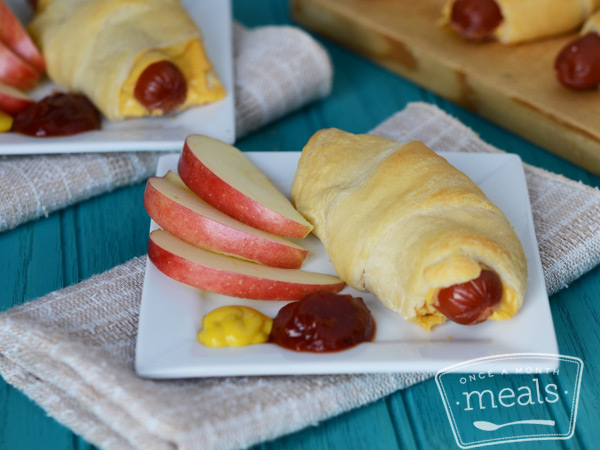 Hot Dog Croissants