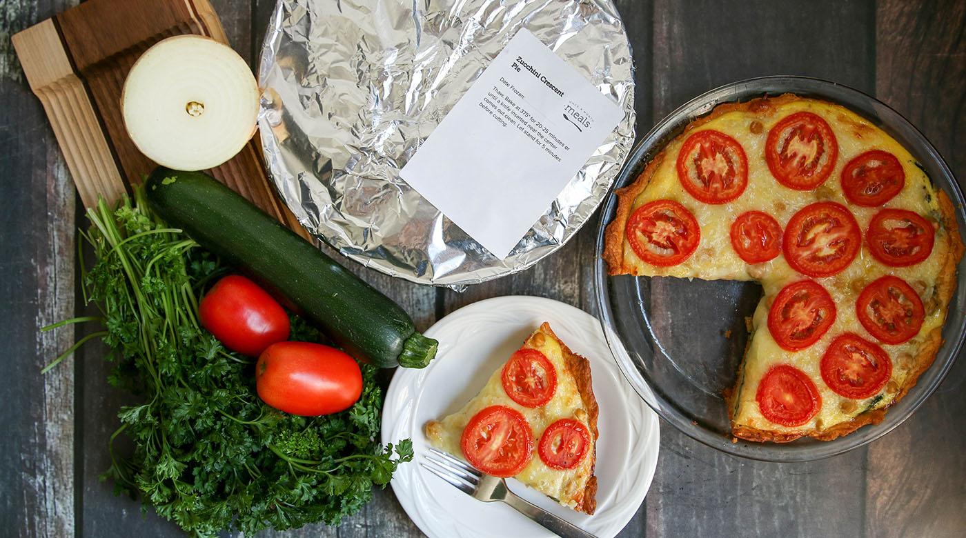 Zucchini Crescent Pie
