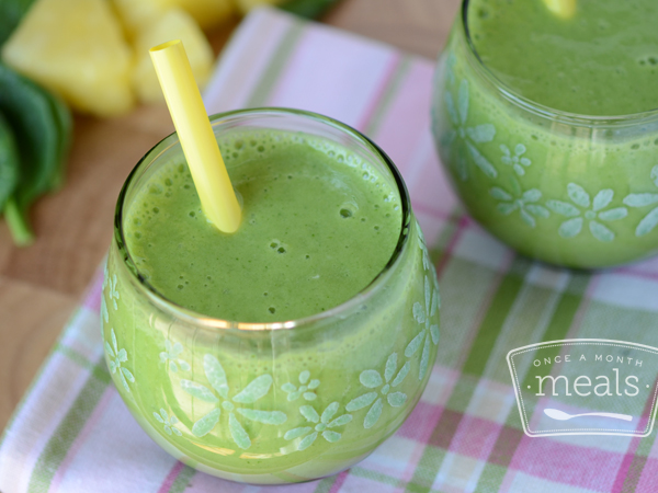 Skinny Green Summer Smoothie