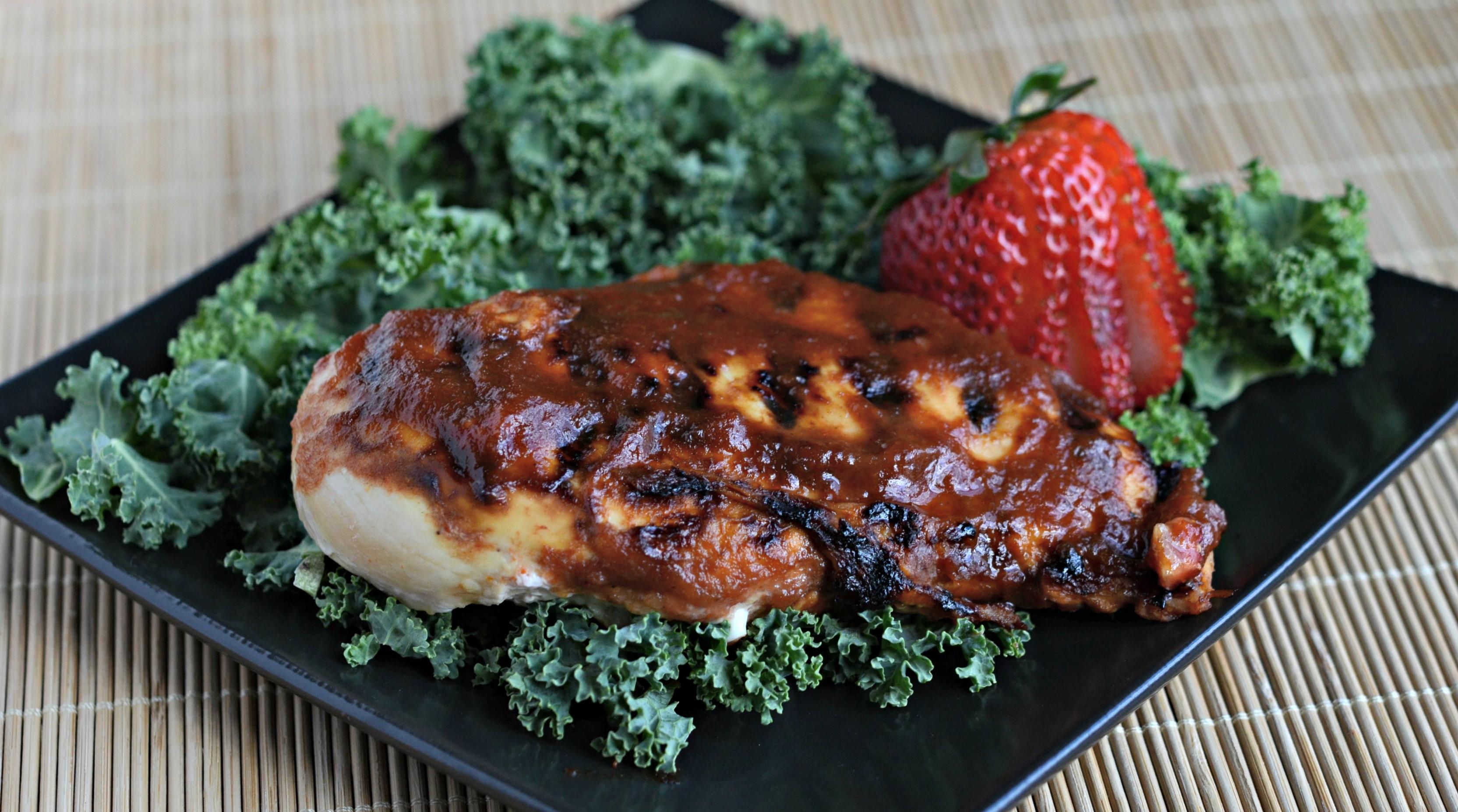 Gluten Free Dairy Free Sweet and Tangy BBQ Chicken