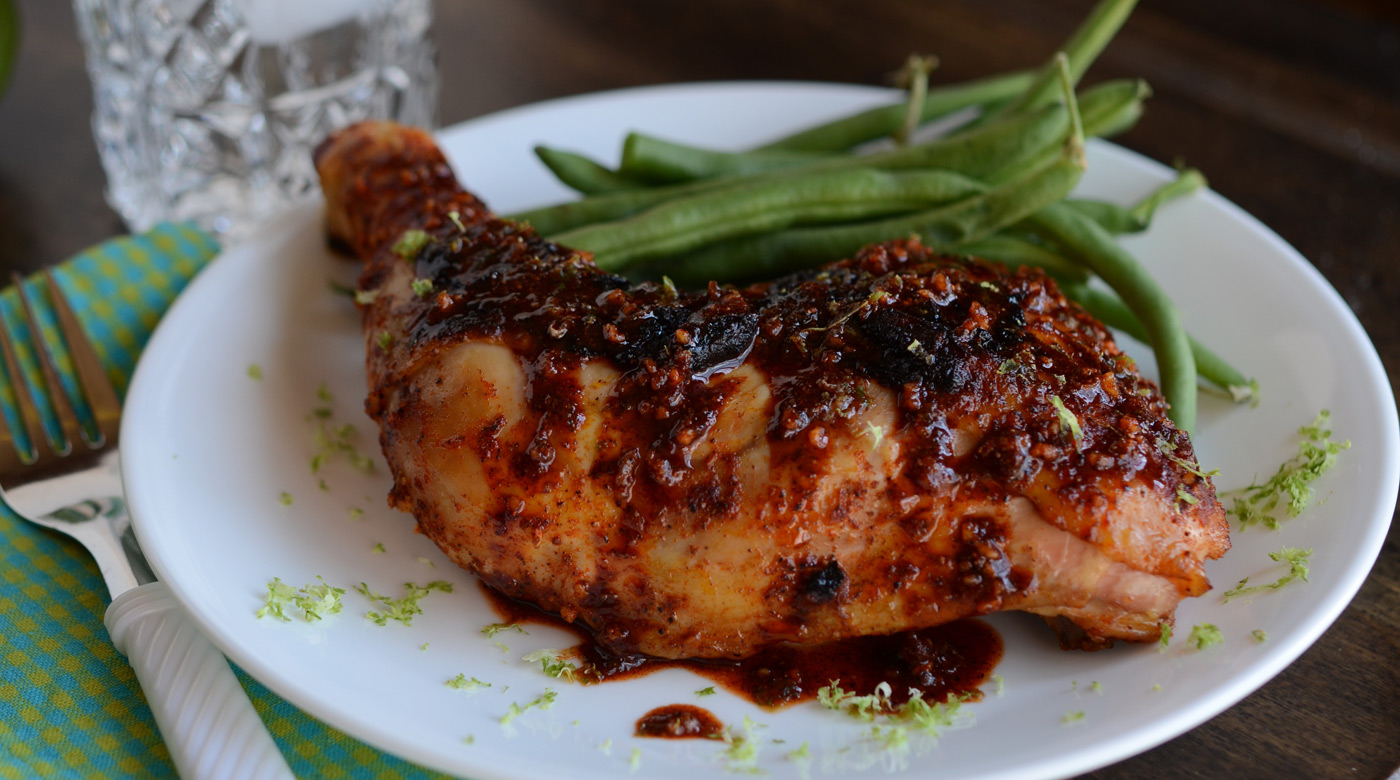 Spicy Garlic Lime Chicken | Once A Month Meals