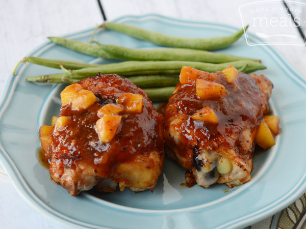 Peachy BBQ Chicken