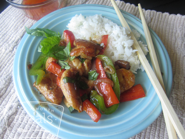 Thai Basil Stir Fry Chicken