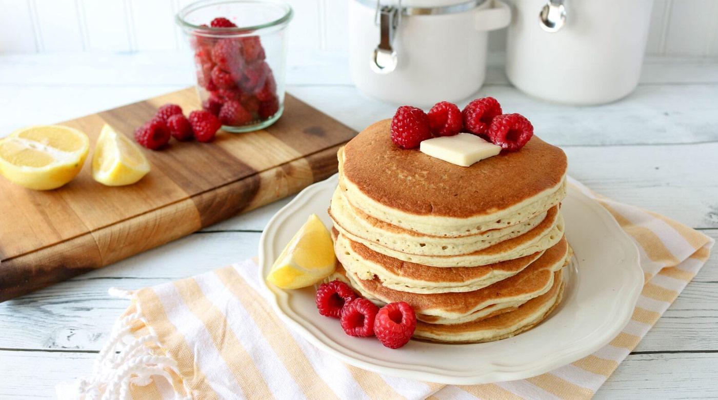 Raspberry Lemon Pancakes