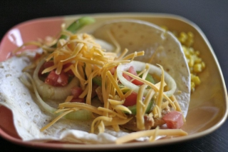 Quick and Easy Freezable Chicken Tacos