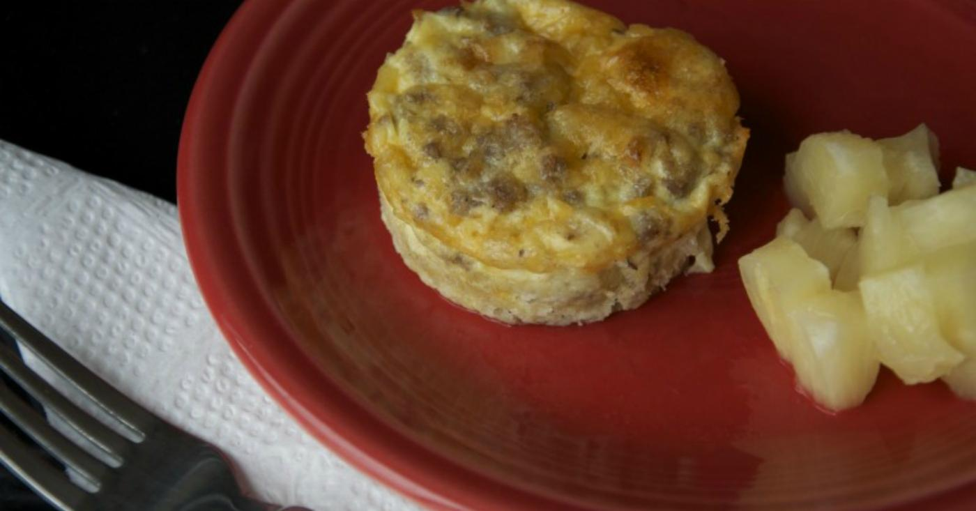 Mini Sausage Breakfast Quiche Once A Month Meals