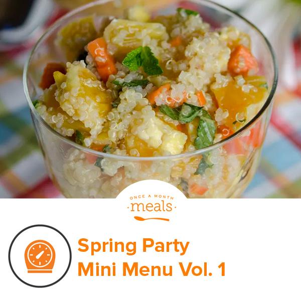 Spring Party Mini Menu Vol. 1