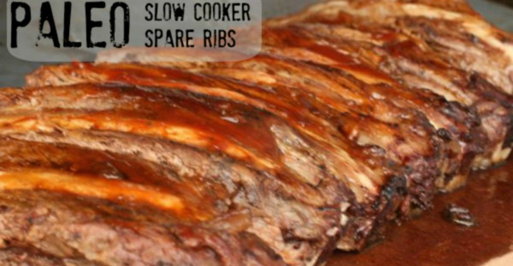 Paleo Slow Cooker Spare Ribs – Once A Month Meals