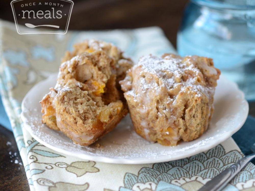 Gluten Free Dairy Free Apricot Breakfast Muffins