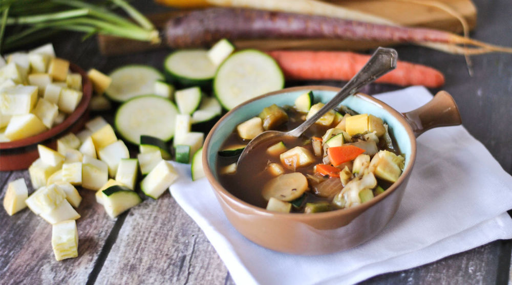 Cabbage and Winter Vegetable Soup