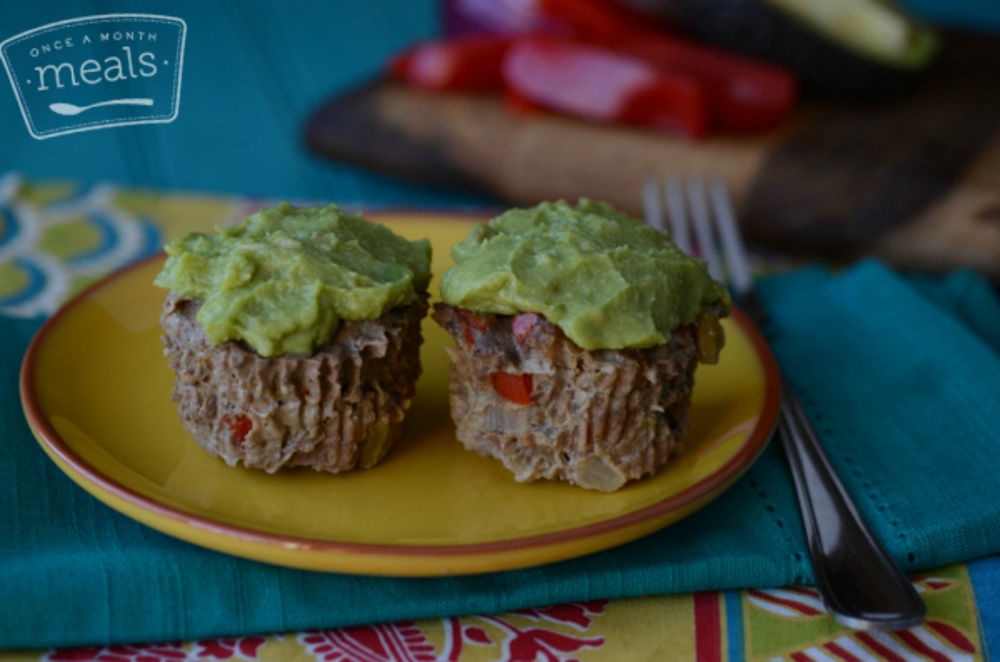 Mexican Meatloaf Cupcakes