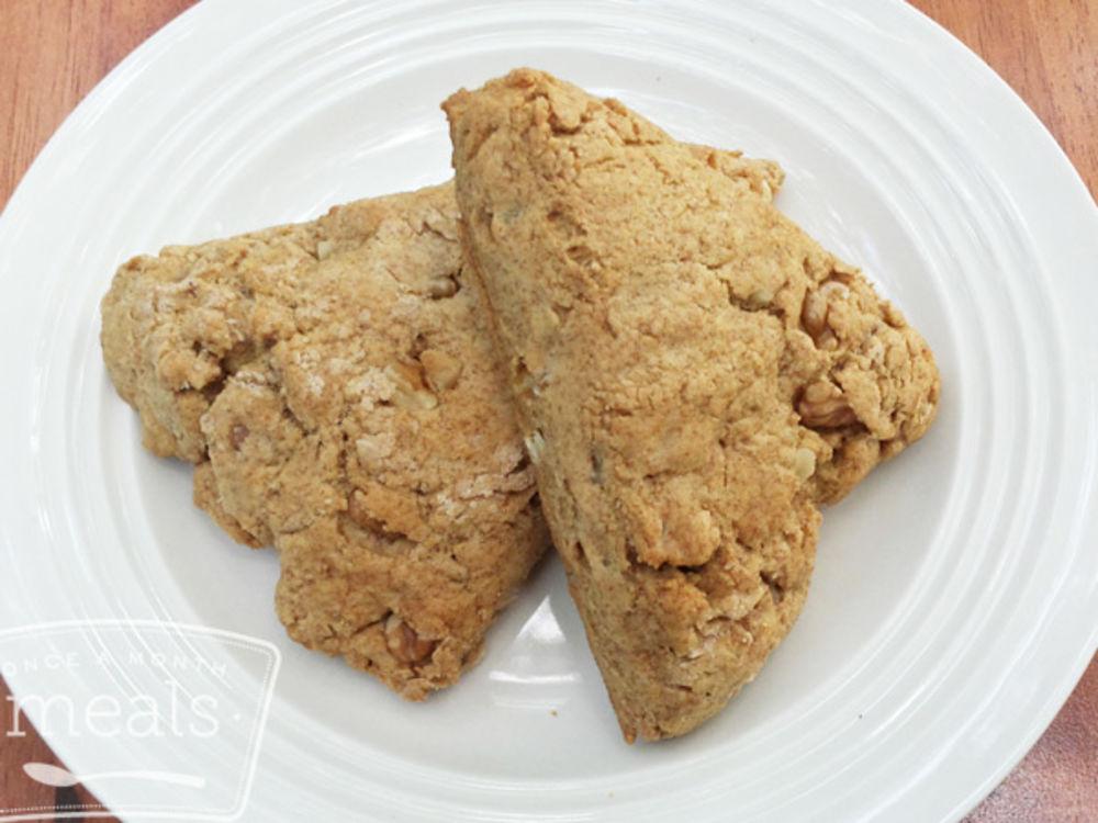 Vegan Maple Walnut Scones