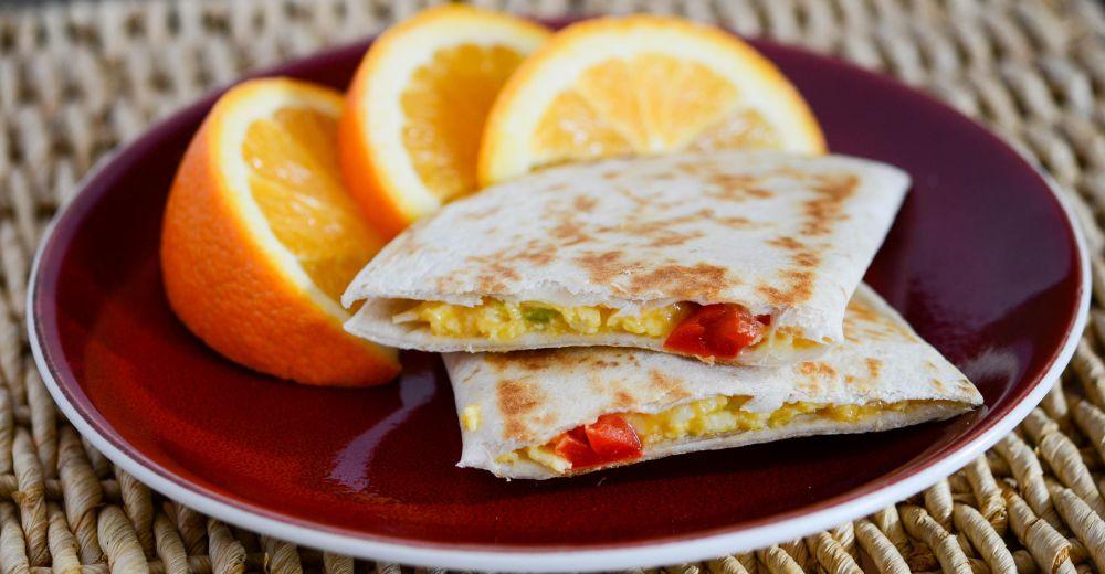 Better Than the Freezer Aisle: Copycat Smart Ones Breakfast Quesadilla