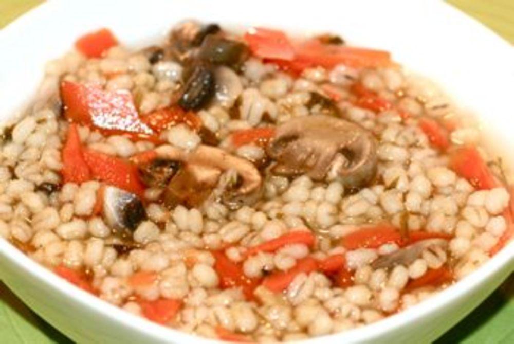 Healthy Mushroom Barley Soup
