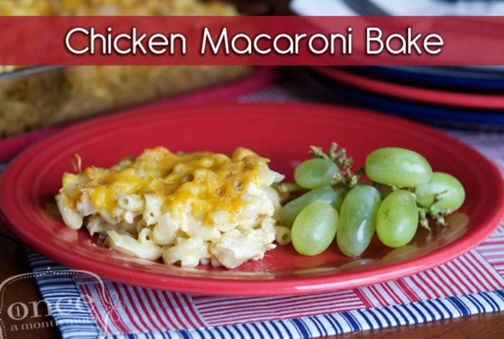 Chicken Macaroni Bake