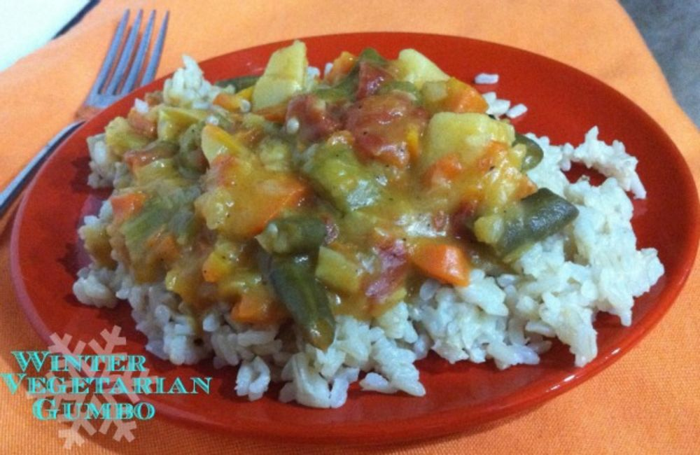 Winter Vegetarian Gumbo