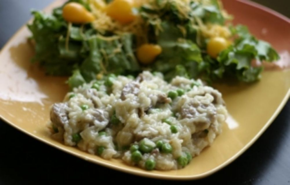 Italian Sausage Risotto Recipe