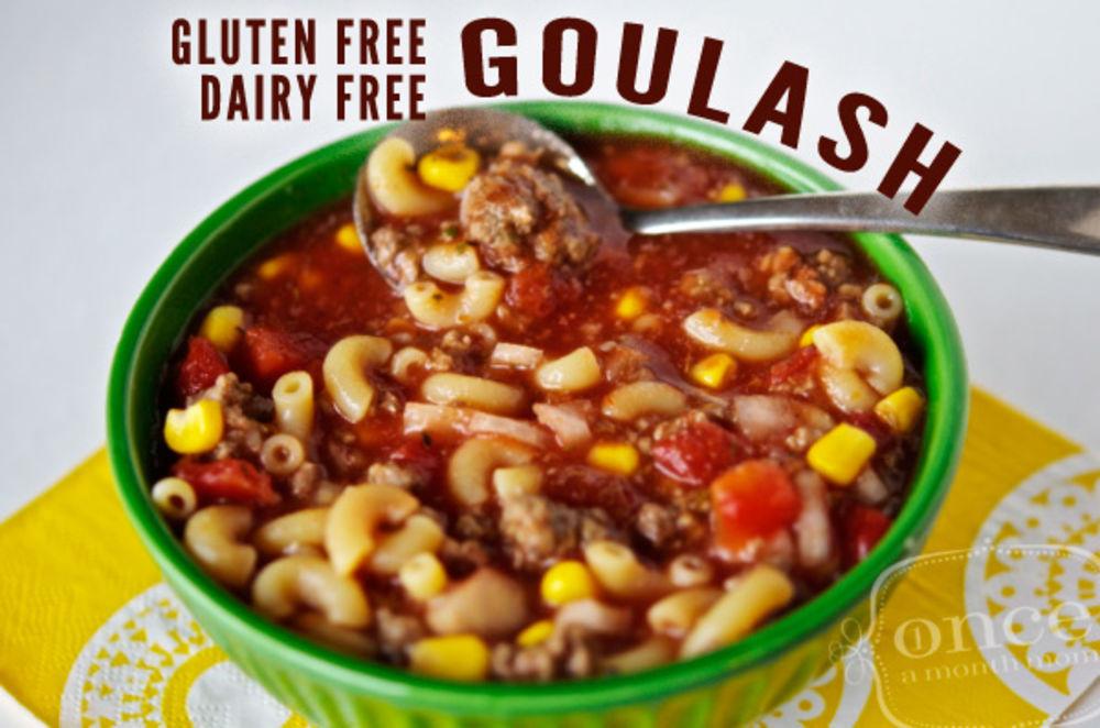Gluten Free Dairy Free Goulash