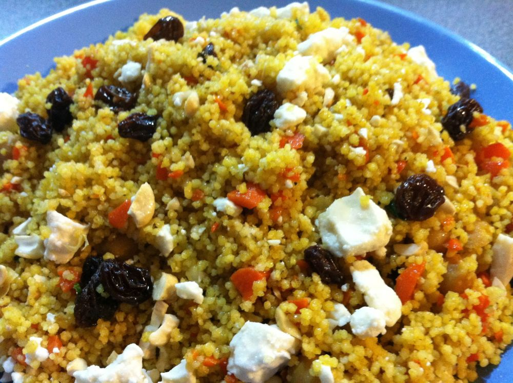 Mediterranean Couscous Salad | Once A Month Meals