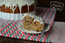 Traditional Chilean Christmas Fruit Cake