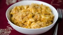 Instant Pot Pumpkin Macaroni and Cheese - Lunch Version