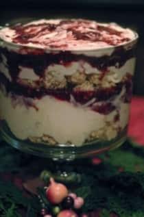 Rice Krispies Raspberry White Chocolate Cream Cheese Trifle