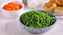 Simple Side:  Peas