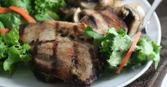 Grilled Ginger Pork Tenderloin - Traditional Version