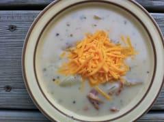 Instant Pot Potato Soup - Ready to Eat Dinner