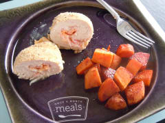 Better Than The Freezer Aisle: Chicken Cordon Bleu - Lunch Version