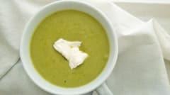 Lemon Parmesan Asparagus Soup