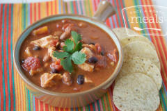 Chicken Taco Soup - Lunch Version