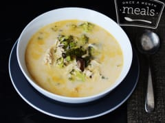 Paleo Thai Chicken Soup - Lunch Version