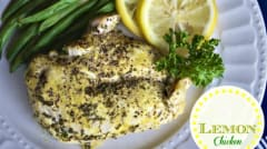 Slow Cooker Lemon Chicken - Traditional - Ready to Eat Dinner