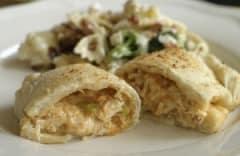 Buffalo Chicken Calzones - Lunch Version