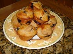 Fat-Free Lemon Berry Muffins