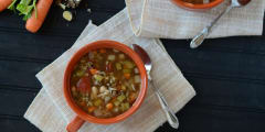 Instant Pot Winter Minestrone - Lunch Version