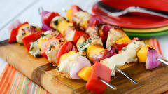 Sweet Summer Mango Kebabs - Dump and Go Dinner