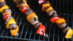 Paleo Steak Kebabs - Dump and Go Dinner