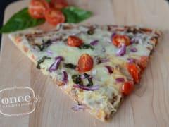 Tomato Beef Pizza