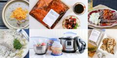 Spring Instant Pot Mini Freezer Meal Plan Vol. 1