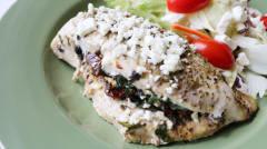 Greek Stuffed Chicken Breasts - Dump and Go Dinner