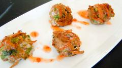 Instant Pot Chili Garlic Meatballs - Lunch