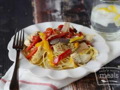 Slow Cooker White Wine and Garlic Chicken - Lunch