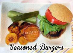 Seasoned Burgers - Dump and Go Dinner