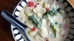 Queso Soup with Broccoli and Potato