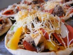 Pita Pizza - Lunch Version